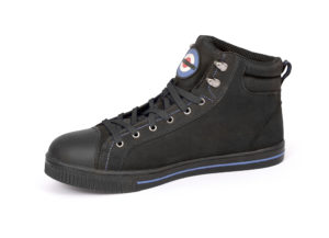 DB001 lambretta boot inside black laces