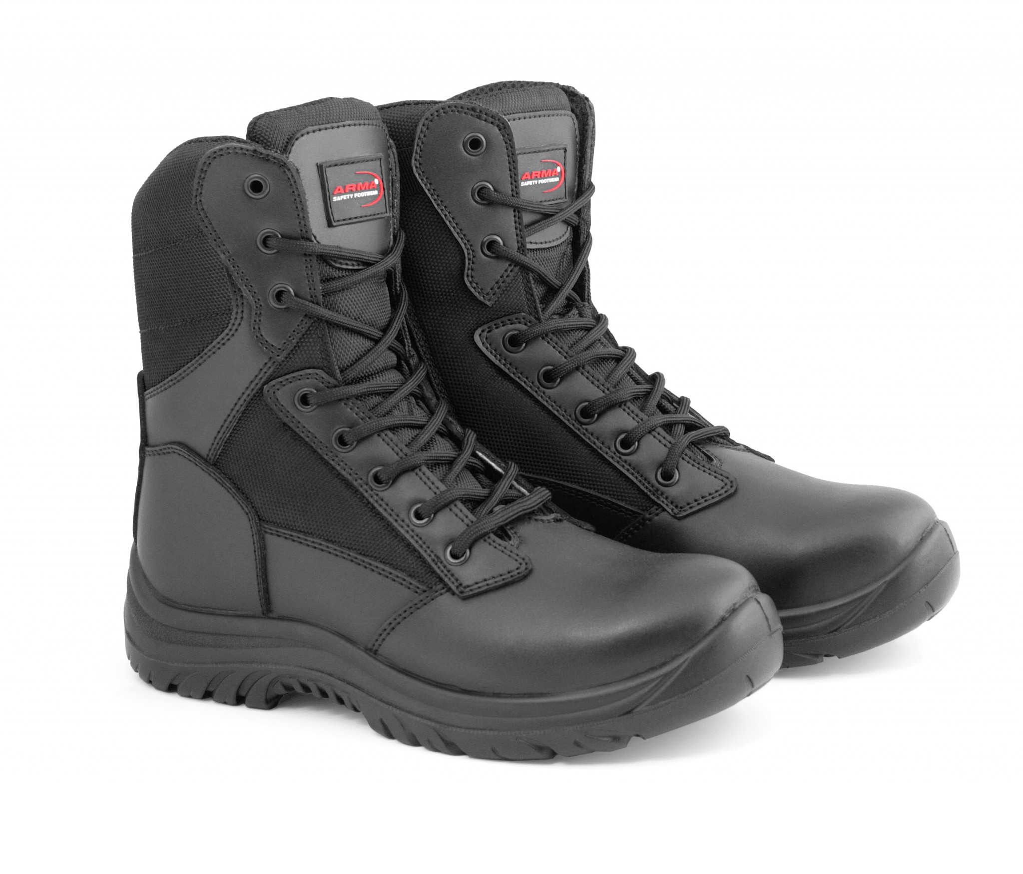 Mens Lightweight Steel Toe Cap Military Combat Safety